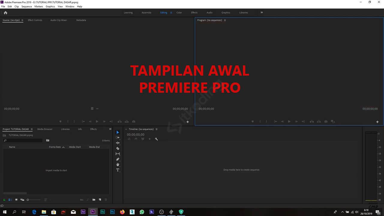 Aplikasi Edit Video Adobe Premiere Pro untuk PC