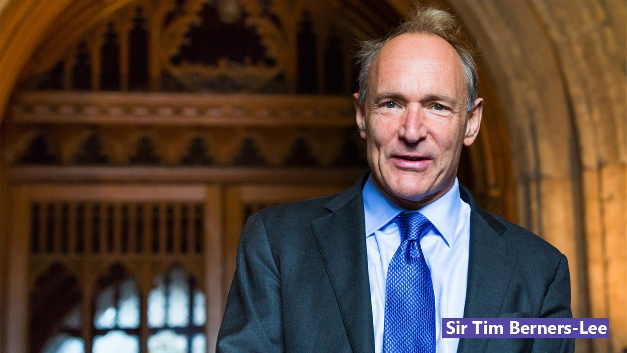 Foto Sir Tim Berners-Lee penemu HTML
