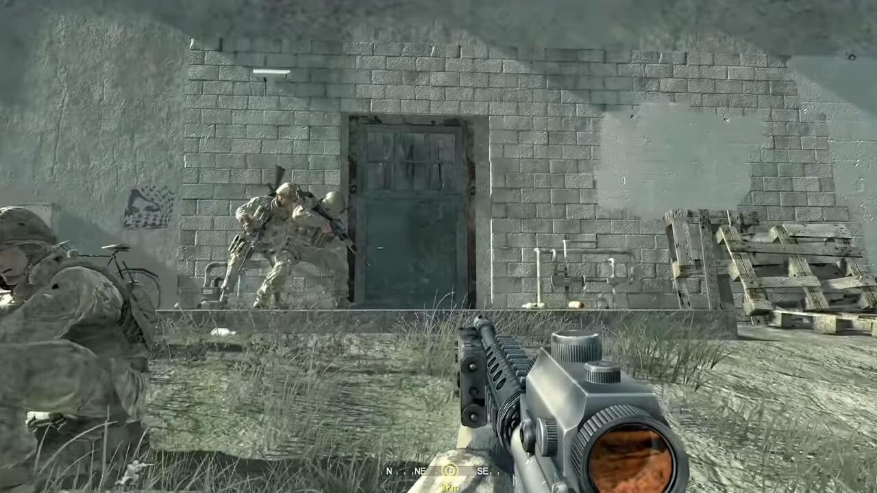 Cod4 modern warfare saat game berjalan