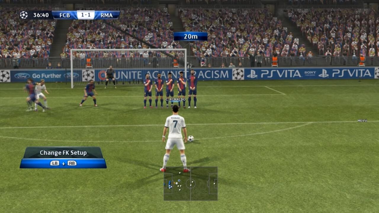 Game sepak bola pc ringan offline pes 2013