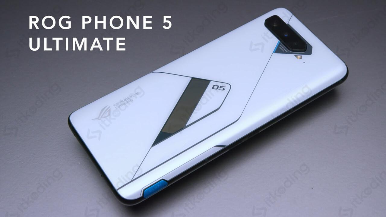 Tampilan hp rog phone 5